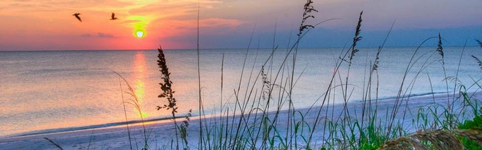 Sunset over Siesta Key