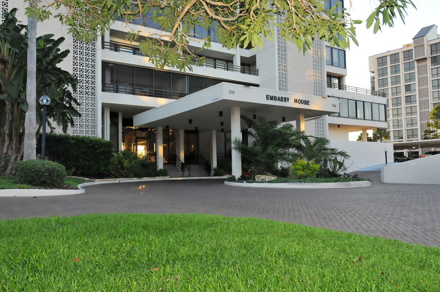 Embassy House Condo Downtown Sarasota