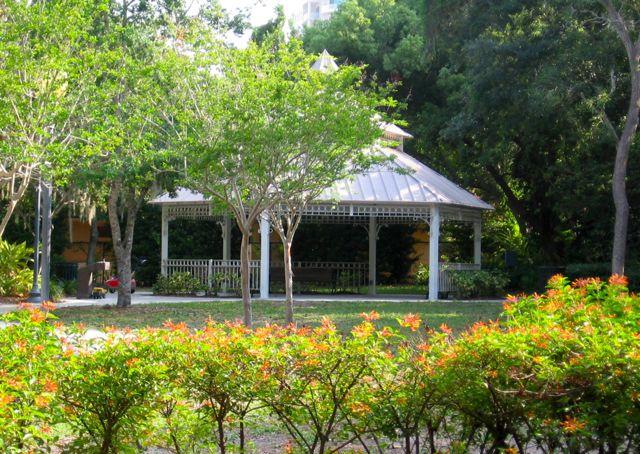 Laurel park gazebo